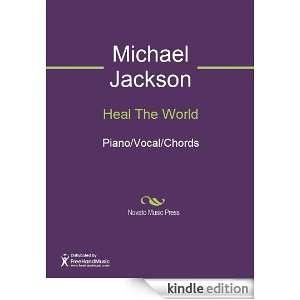 Heal The World Sheet Music (Piano/Vocal/Chords) Michael Jackson