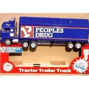 PEOPLES DRUG Tractor Trailer Promo Truck   Mint in Box