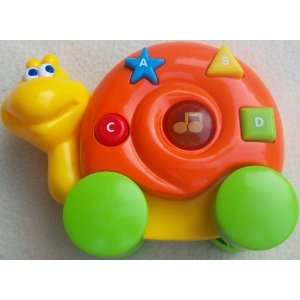 4 Musical Learning Snail Toy Toys & Games