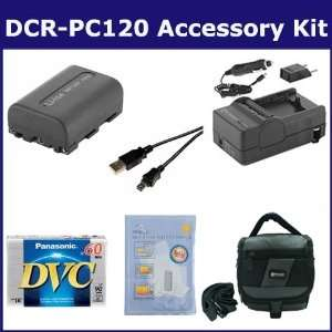 Sony DCR PC120 Camcorder Accessory Kit includes DVTAPE