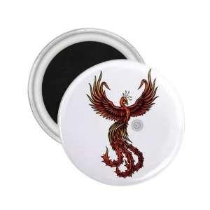 Bird Tattoo Fridge Souvenir Magnet   Refrigerator Bird Button Magnet