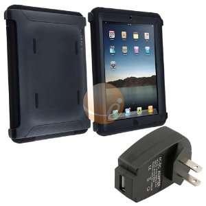 Black Otterbox Defender Case [OEM] + Black USB Travel
