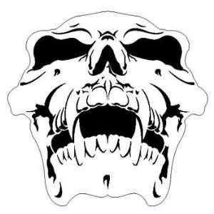 SKULL 9 HUMAN AIRBRUSH STENCIL AIR BRUSH TEMPLATE: Home