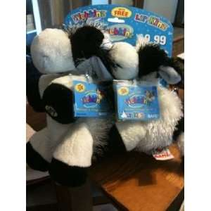 Webkinz Cow with Lil Cow: Toys & Games
