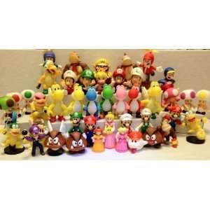 Super Mario Bros Figure Set of 43pcs Set Toys & Games