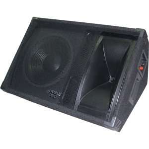 800 Watt 15 Two Way Stage Monitor Speaker System Musical