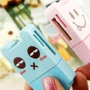 Cute Bear Cartoon Convenient USB Memory Card Reader