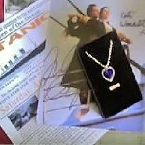 Cubic Zirconium & Swarovski Crystal Heart of the Ocean Necklace
