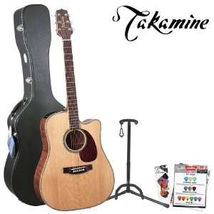 Cutaway Acoustic/Electric Guitar Kit   Includes Hard Case, Guitar