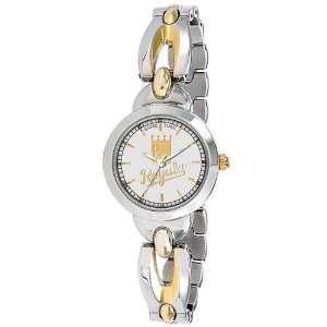 Kansas City Royals Silver/Gold Womens/Ladies Elegance