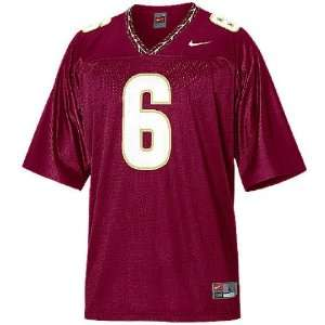 Florida State Seminoles Youth #6 Home College Replica Football Jersey