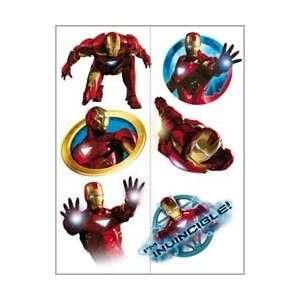Iron Man Party Favors   Iron Man 2 Temporary Tattoos Toys