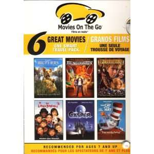 Movies On The Go   Two Brothers / Thunderbirds / Peter Pan