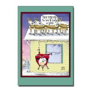 Angry Cat Christmas Card   Funny: Health & Personal Care
