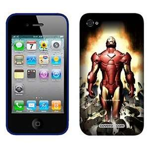 Iron Man Breaking on AT&T iPhone 4 Case by Coveroo
