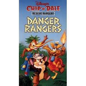 Chip n Dale Rescue Rangers   Danger Rangers [VHS] Chip & Dale