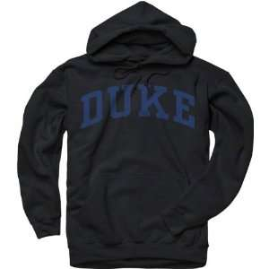 Duke Blue Devils Black Arch Hooded Sweatshirt Sports