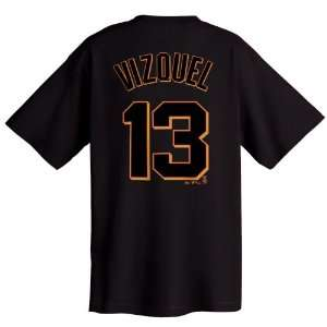 Omar Vizquel San Francisco Giants Name and Number T Shirt