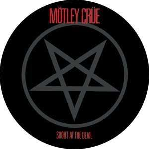 Motley Crue Shout at the Devil Button B 0666 Toys & Games