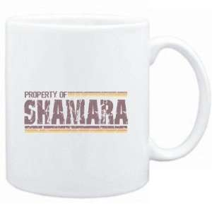 Mug White  Property of Shamara   Vintage  Female Names
