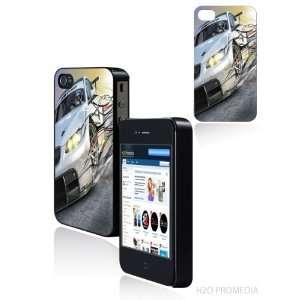bmw drifting white car   iPhone 4 iPhone 4s Hard Shell