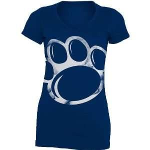 NCAA Penn State Nittany Lions Gigantor Ladies V Neck Tee Shirt
