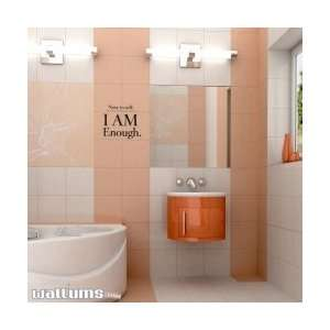 Note To Self I AM Enough Wall Art Decal