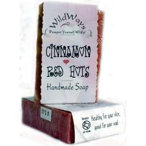 Cinnamon Red HOTS Fine Herbal Soap Health & Personal Care