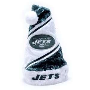 New York Jets NFL Himo Plush Santa Hat