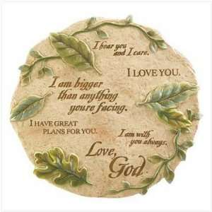 LOVE LETTERS WALL PLAQUE  Home & Kitchen