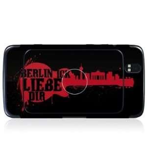 mit Logocut   Berlin ick liebe Dir Design Folie Electronics