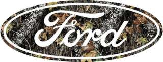 24 CAMO FORD VINYL WINDOW DECAL STICKER EMBLEM NEW