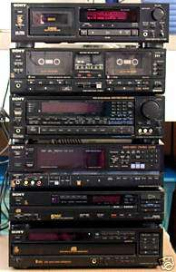Sony CD 5 Disc Changer   CDP C5F   with Remote RM D5