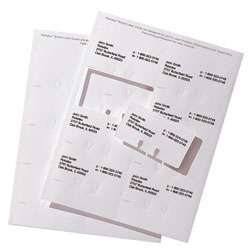 Rolodex® Laser/Inkjet Refill Index Card Sheets, 2 1/4 x 4, Box Of