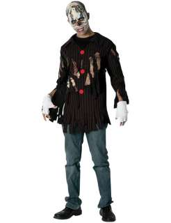 Teen Corpse Clown Halloween Costume  Jokers Masquerade