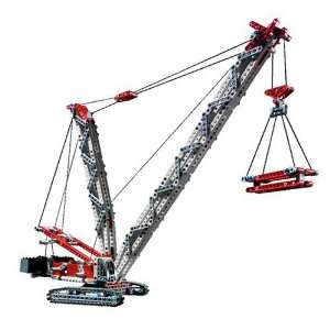 LEGO   Technic Crawler Crane: .co.uk: Toys & Games