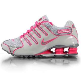 Women Nike Shox NZ White / Metallic Silver / Pink Flesh LACE 311137