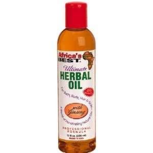 Africas Best Herbal Oil, Ultimate, Bonus Size, 12 oz.: Beauty