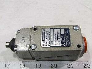 Telemecanique R.B. Denison Lox switch C2B JKI JKI A600