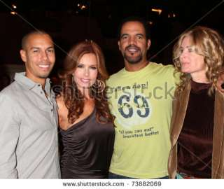 stock photo : LOS ANGELES   MAR 24: Bryton James, Tracey E Bregman