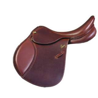 Pessoa A/O Grained Leather Saddle with XCH and Close Contact Saddles