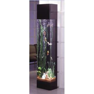 Midwest Tropical Fountain AquaTower 30 Gallon Rectangle Aquarium Fish
