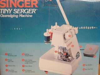 Singer Tiny Serger TS380A Sewing Machine