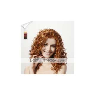 Capless Long Top Grade Quality Synthetic Curly Hair Wig 15 Colors To