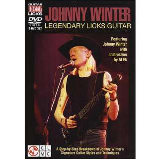 Johnny Winter Legendary Licks Guitar Movies
