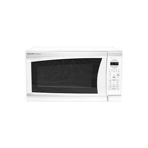 R520LW   Sharp   R520LW   White Countertop Microwave Oven   8238