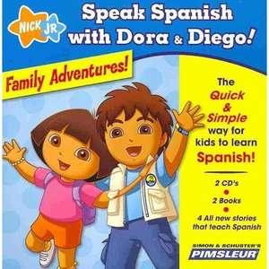 Speak Spanish with Dora & Diego Family Adventures Children Learn to