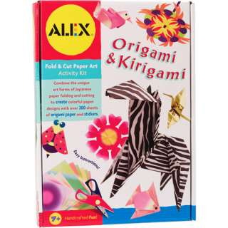 ALEX Toys   Origami and Kirigami Kit