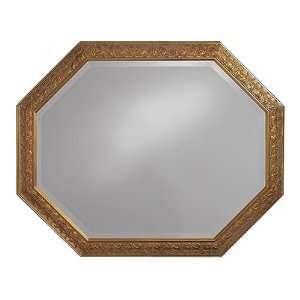 Martin Antique Gold Hexagonal Wall Mirror