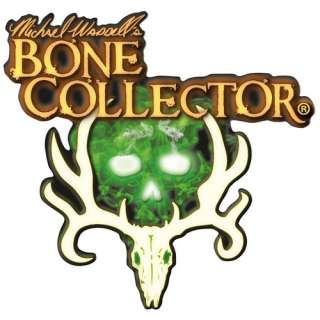 Bone Collector Corporate Logo Decal, White, 6 Automotive